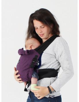 NEWBORN, адаптований рюкзак від народження Баклажан