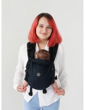 NEWBORN, адаптований рюкзак від народження Чорниця